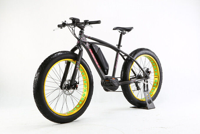 48V 10Ah Fat Tire Mountain Electric Bike 350W  Electric Powered Mountain Bike