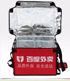 100L izolowane wodoodporne torby na pizzę Food Delivery box Hot Food Thermal Backpack